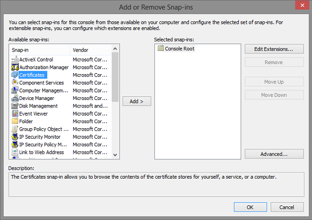 IIS - Assign Existing Private Key to a New Certificate