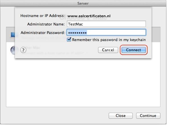 Apple Mac OS X Server 10 8 (Mountain Lion) - Certificate